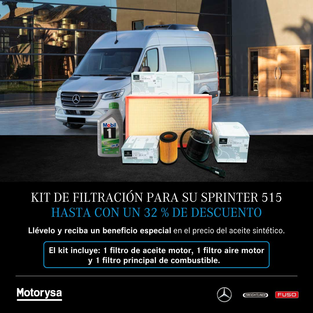 Kit de Sprinter con aceite