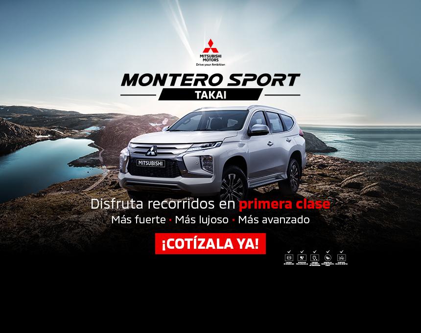 Montero Sport Takai lanzamiento