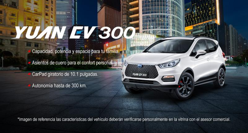 Modelo Yuan EV 300 BYD