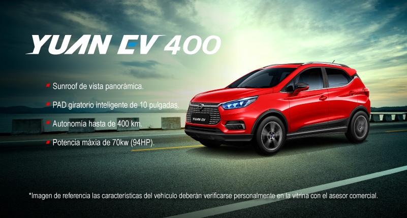 Modelo Yuan EV 400 BYD